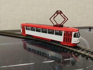 tram, tatra, tatra t3, ho, 1/87, Straßenbahn, rustram, train