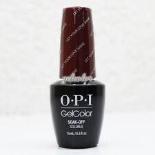 OPI GelColor Soak Off LED/UV Gel Nail Polish 0.5oz Let Your Love Shine #HPG45