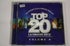 Dj Moet & Dj Nene Malo Top 20 Ultimate Hitz Vol 4  Music CD