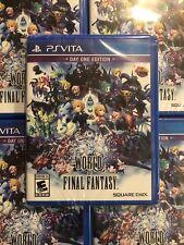 World of Final Fantasy (Sony PlayStation Vita, 2016)Sealed Fast Free Ship Usa Ed