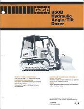 Equipment Brochure - Case - 850B - Hydraulic Angle Tilt Dozer - c1977 (E3858)