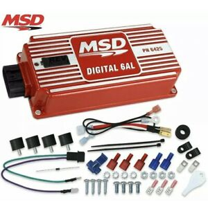MSD Ignition 6425 Digital 6AL Ignition Control With Rev Control New In Box!!!!