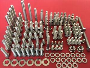 Suzuki GSF1200 Bandit 96-00 MK1 Stainless Allen Bolts Screws Kit Set Rebuild UK