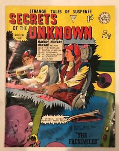 UK Edition SECRETS OF THE UNKNOWN #119! HORROR MYSTERY SCI-FI