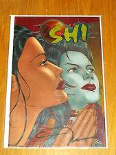 SHI #7 CRUSADE COMICS CHROMIUM EDITION SIGNED NM (9.4)*
