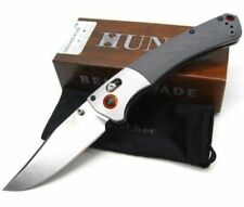 * NEW BENCHMADE HUNT CROOKED RIVER G10 CPM-S30V STEEL PLAIN EDGE KNIFE 15080-1