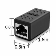 Female to Female Cat7 Inline RJ45 Keystone Wall Coupler Jack Adapter Best Durabl