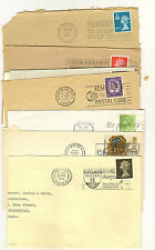 15 GB Slogan postmark Commercial mail with town marks begining with  A 1960s-90s