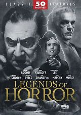 Legends of Horror - 50 Movie Pack (DVD, 2008, 12-Disc Set) - NEW!!
