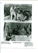 Michael Douglas Kathleen Turner Avner Eisenberg The Jewel Of The Nile Pres Photo