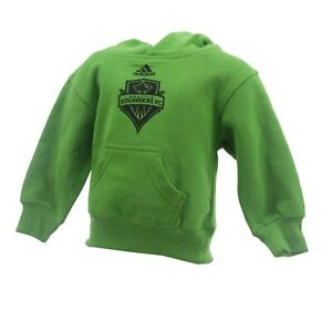 MLS official Adidas Seattle Sounders Kids Infant Toddler Size Sweatshirt New