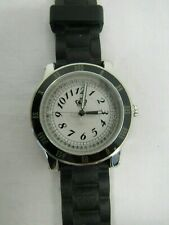 NEW Juicy Couture Watch Black & White Jelly Strap - CHL C2 #1