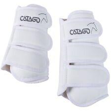 catago Bottes de dressage, 4 pièces - Blanc - pur-sang / COB dressage Guêtre SET