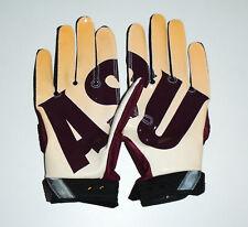 NIKE Team Issued SUPERBAD Football Gloves ARIZONA STATE ASU SunDevils NEW : Lg