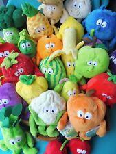 Stofftiere Obst und Gemüse verschiedene Goodness Gang Penny Knuddel Plüschtiere