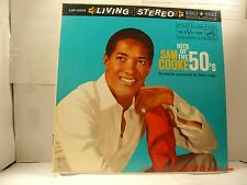 "SAM COOKE -(LP)- HITS OF THE 50'S -  ""MONA LISA"",  ""CRY""  RCA LIVING STEREO-1960"