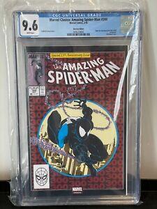 Amazing Spider-Man #300 CGC 9.6 Chrome Mexican Variant, 1st Venom, McFarlane Art