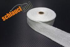 10m Fiberglas Hitzeschutzband 50mm weiss 800°C *** Heat Wrap Turbo Fächerkrümmer