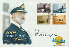 HRH PRINCE MICHAEL OF KENT - SIGNED - SUBMARINES FDC