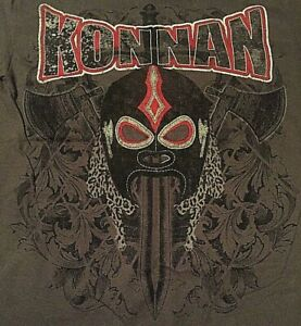 Masked Republic Officially Licensed Konnan Small T-Shirt, AAA, Lucha Underground