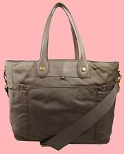 MARC JACOBS ELIZ-A-BABY PRETTY Dusk Nylon & Leather Convertible Tote Bag $348