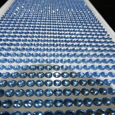 1000 SELF ADHESIVE STICK ON DIAMONTE LIGHT PALE BLUE CRYSTAL RHINESTONE DIAMANTE
