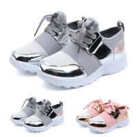 Toddler Kids Baby Boys Girls Mesh Casual Sports Running Shoes Lace-Up Sneakers
