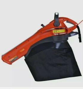 Flymo 4-in-1 Garden Vac Leaf Blower Vacuum Shredder 2700W 40L Corded Electric