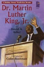 NEW - Dr. Martin Luther King, Jr.: A Holiday House Reader Level 2