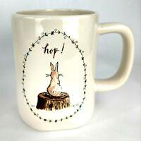 RAE DUNN MAGENTA Artisan Collection Easter Holiday Hip Hop bunny Tea/Coffee mug