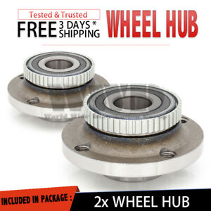 2x 513111 Front Hub Wheel Bearing Assembly For 1984-1987 BMW 325E Pair L+R