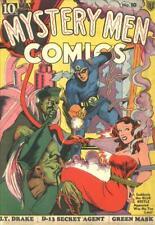 Mystery Men Comics #10 Photocopy Replica Comic Book, Blue Beetle