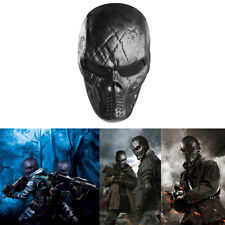 Airsoft Paintball Full Face Combat Skull Skeleton Game Mask Protect Halloween
