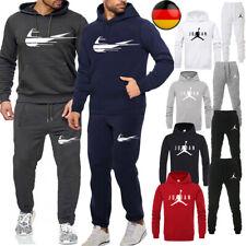 Herren Trainingsanzug Jogging Sweatshirt Trainingshose Hoodies Sportanzug Suit