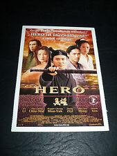 Hero / Ying Xiong, film card [Jet Li, Maggie Cheung, Tony Leung, Zhang Zihi]