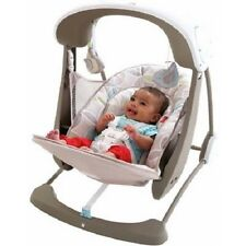 Fisher Price Baby Swing Portable Deluxe Cradle Infant Seat New 6 Speed 10 Tunes