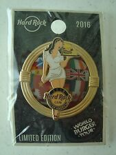 HARD ROCK CAFE Mall Of America 2016 World Burger Series PIN Limited Edition NEW