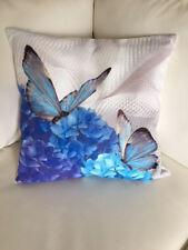 "Throw Pillow Cover Butterfly Effect Digital Print 17"" X 17"" pillow Cover"