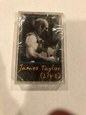 RARE ~ NEW ~ JAMES TAYLOR ~ LIVE ~ CASSETTE TAPE SEALED 1993 You've Got a Friend