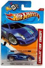 2012 Hot Wheels #191 Thrill Racers - Space Cadillac Cien Concept