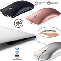 Wireless Mouse 2.4GHz Rechargeable Optical Mice For Macbook Laptop PC Tablet US