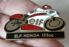 PIN'S MOTO COURSE 125 CC ELF HONDA EGF