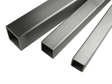 Aluminium Square Box Tube Various Sizes 1 Meter length