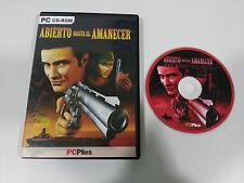 ABIERTO HASTA EL AMANECER TARANTINO JUEGO PC ESPAÑOL CD-ROM PCPLUS