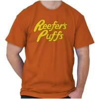 Reefers Puffs Funny Marijuana Stoner Munchies Short Sleeve T-Shirt Tees Tshirts