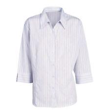 Polyester Career Striped Blouses for Women