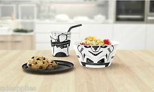 Officiel Star Wars Stormtrooper Enfants empilage Repas Set Tasse Bol & Assiette