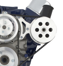 Power Steering Bracket for Small Block Ford; Plastic Reservoir Thompson SBF 302