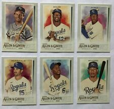 Kansas City Royals 2020 Topps Allen & Ginter Base Team Set *6 cards* Brett Soler