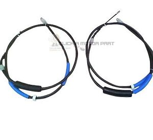 FORD MONDEO MK3 ST TDCi TDDi ST220 REAR 2 HAND BRAKE CABLES NEW SET LEFT & RIGHT